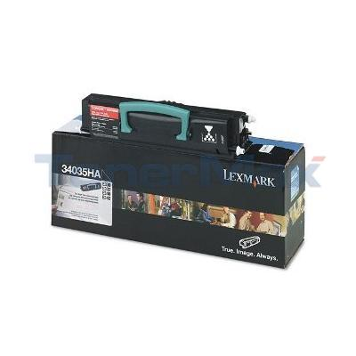 LEXMARK E330 TONER CARTRIDGE BLACK 6K